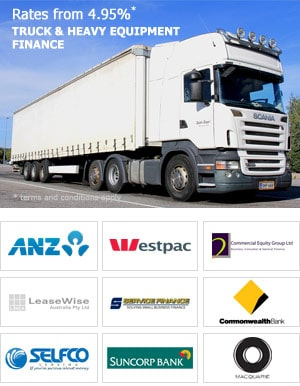 Heavy Vehicle Finance Lenders