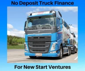 No Deposit Truck Finance for New Ventures