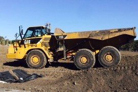 Caterpillar Dump Truck Finance
