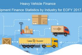 Heavy Vehicle Finance – Equipment Finance Statistics by Industry for EOFY 2017 [infographic]