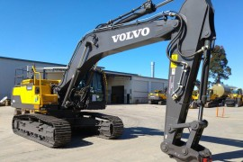 Volvo Excavator Finance for a New Business